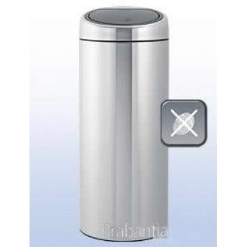 Balde Lixo 30 litros Touch Bin® inox-brilhante Brabantia