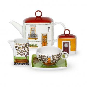 Serviço Chá 12 peças ALMA LISBOA Vista Alegre Atlantis