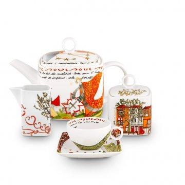 Serviço Chá 12 peças Vimaranes Vista Alegre Atlantis