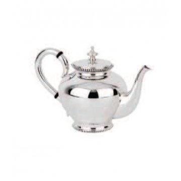 Bule do serviço Chá Continhas Prata
