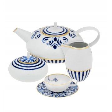 Serviço Chá 15 peças Transatlântica Vista Alegre Atlantis