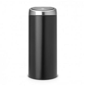 Balde Lixo 30 litros Touch Bin® Preto Brabantia